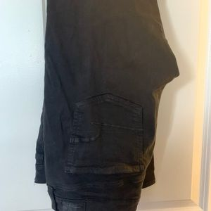 Great condition black size 14 ripped jeans
